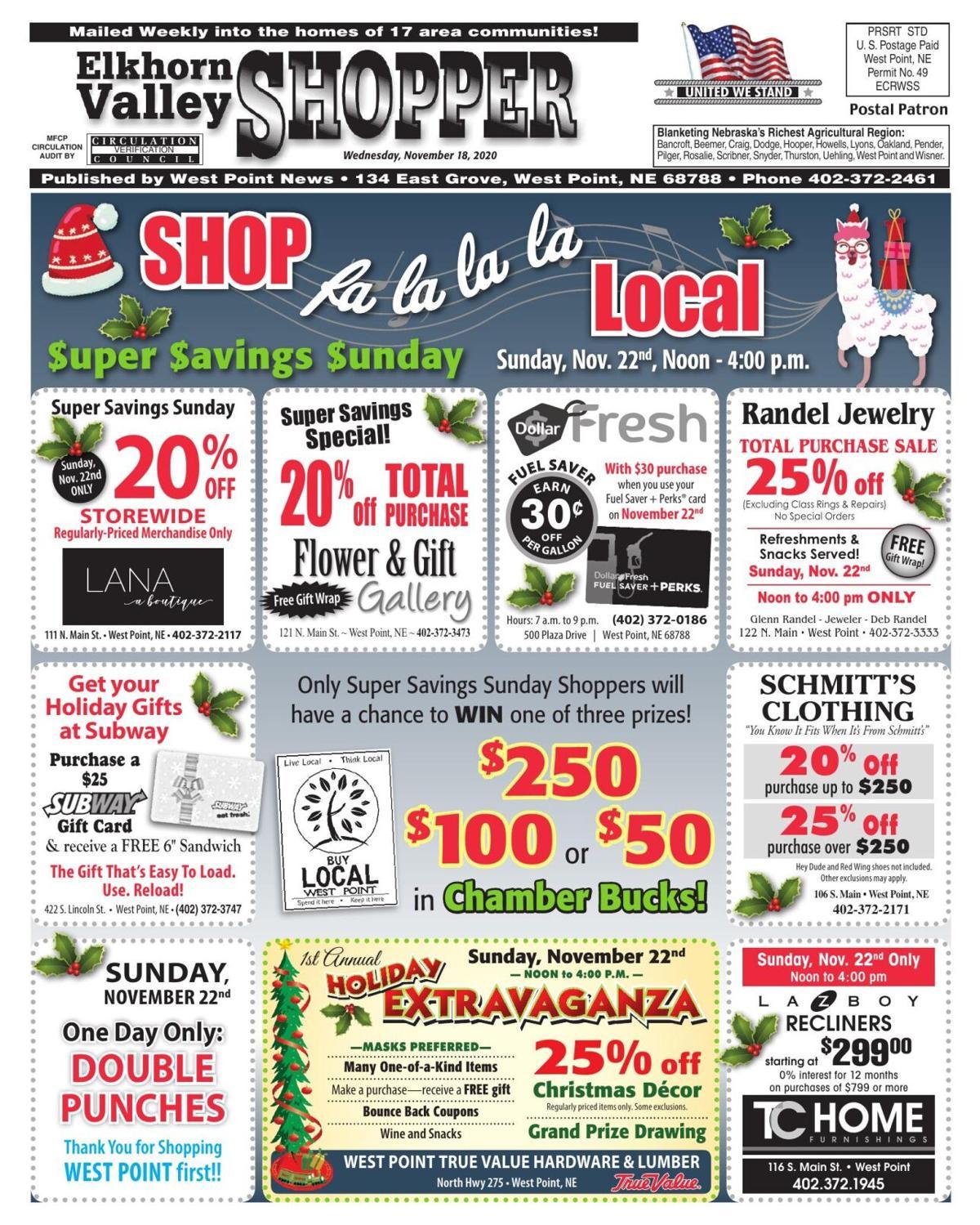 Shopper: November 18
