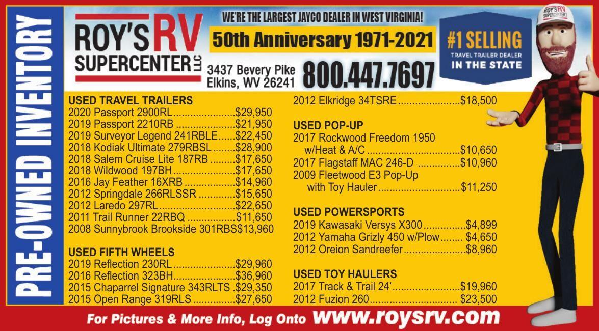 ROY'S RV SUPERCENTER, LLC