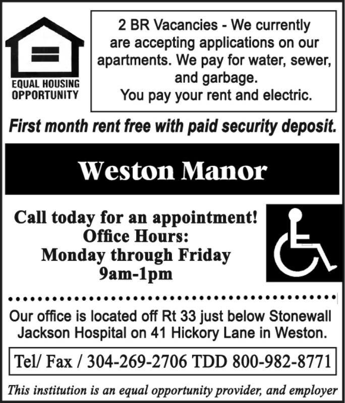 WESTON MANOR APARTMENTS (WD)
