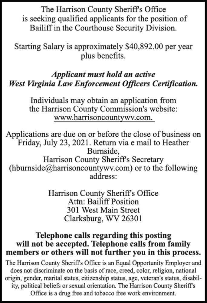 HARRISON COUNTY SHERIFF DEPT