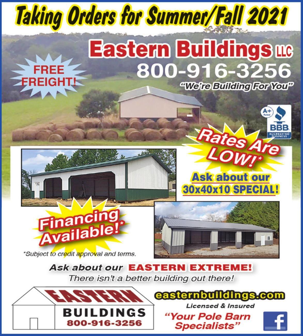 EASTERN BUILDINGS LLC (YBB)