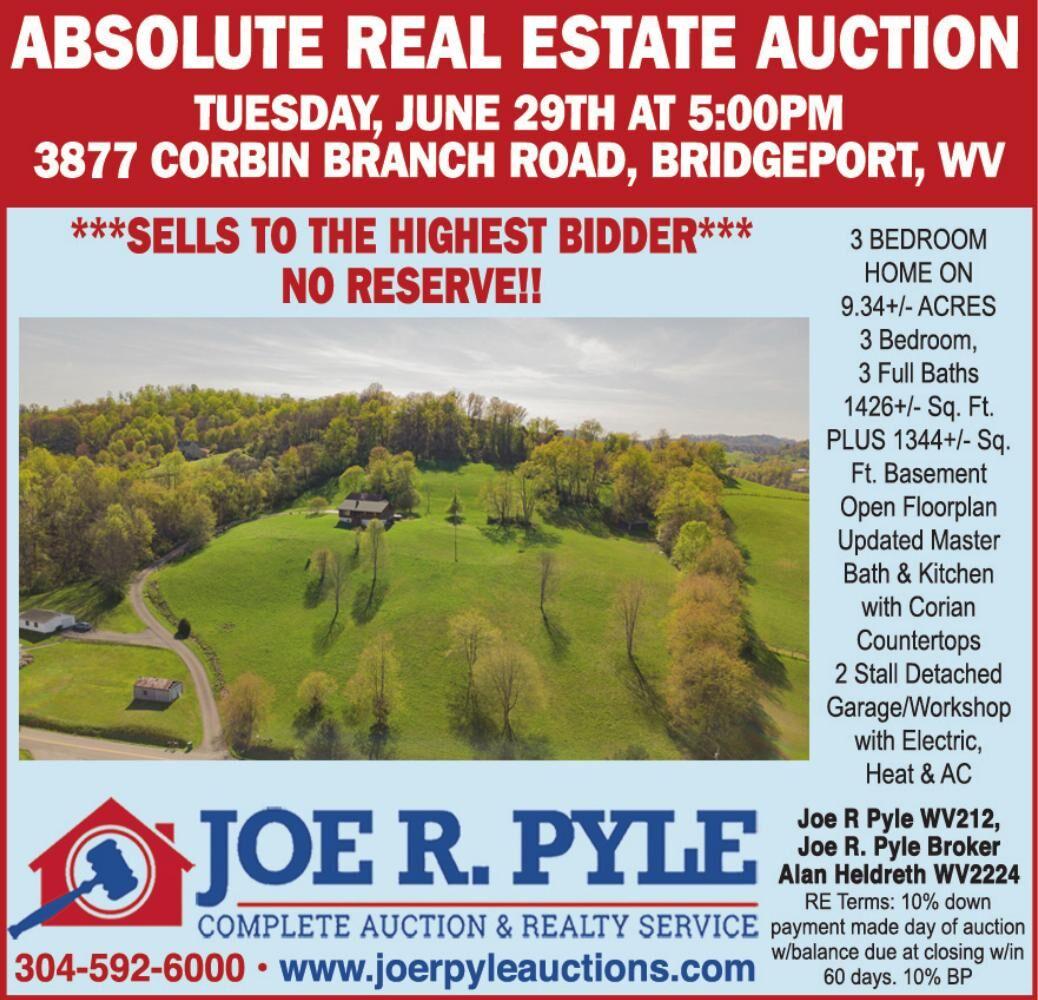 JOE R. PYLE AUCTIONEER