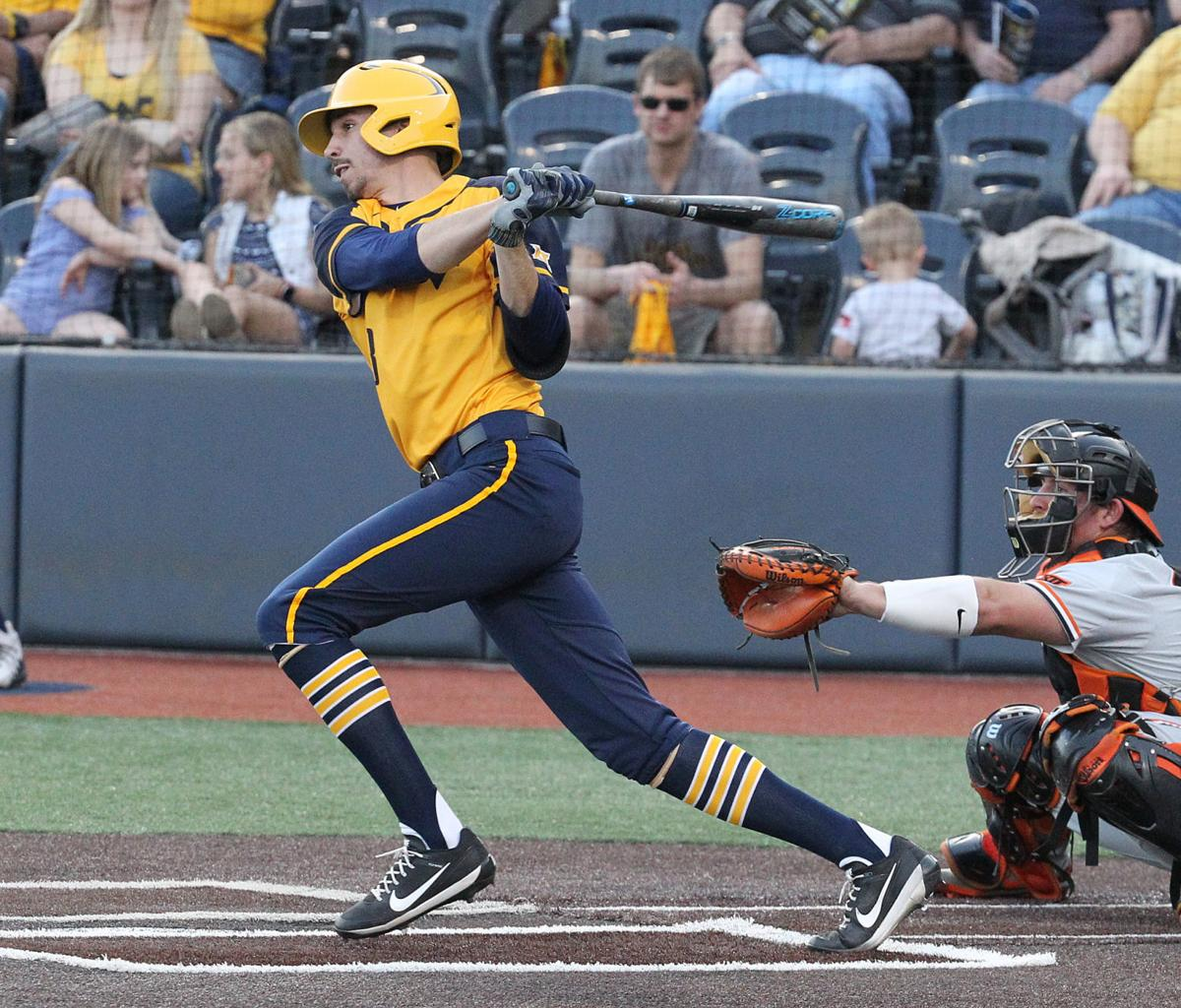 Jimmy Galusky hit a home run Tuesday in WVU's 9-5 win against Maryland.
