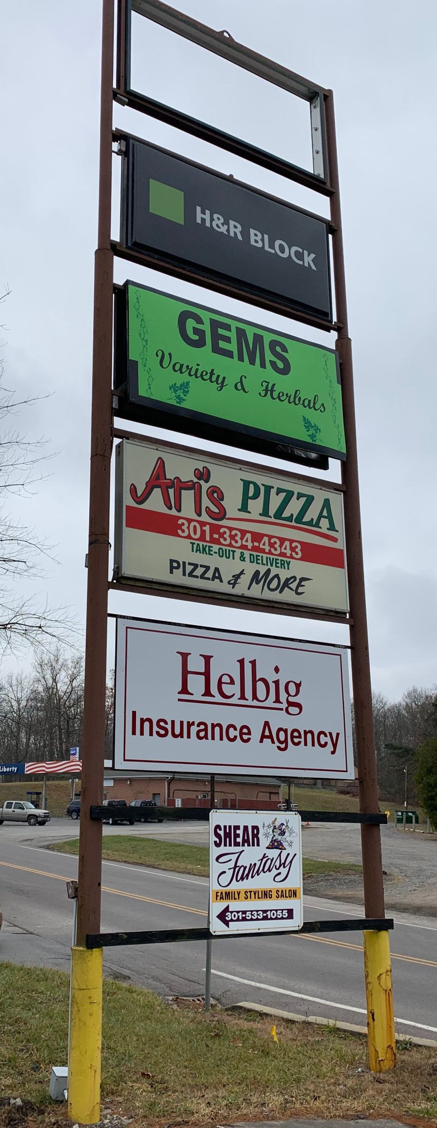 Helbig Insurance sign