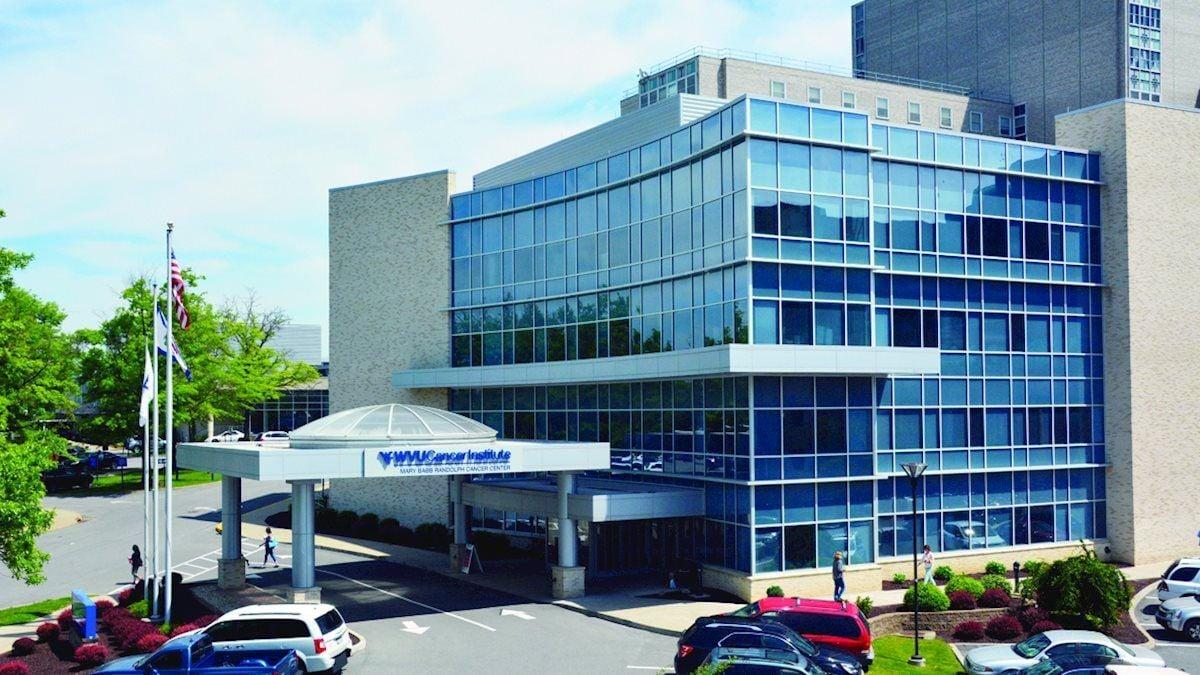 WVU Cancer Institute exterior