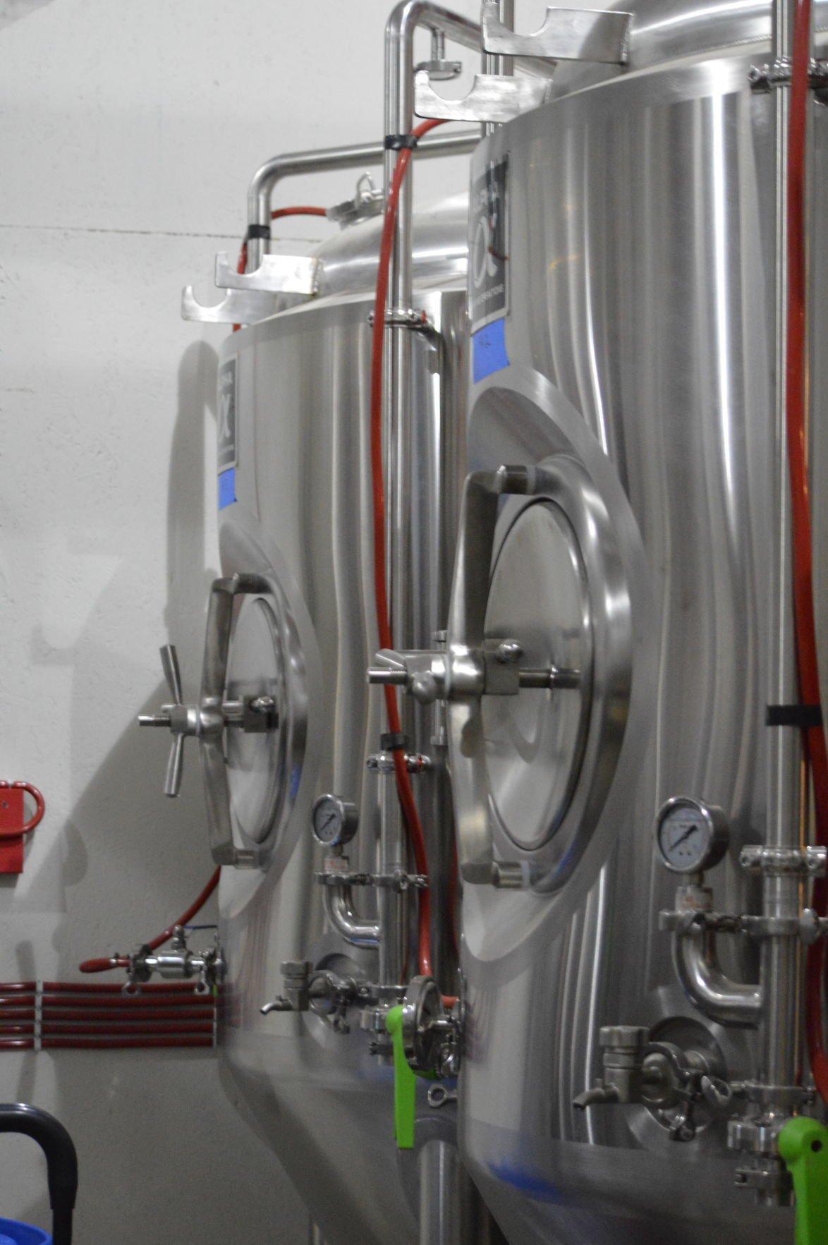 High Ground Brewery: Fermenters