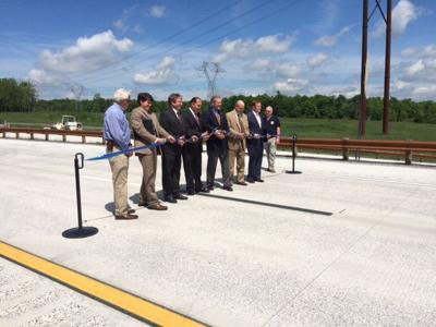Ribbon cutting of new stretch of corridor H