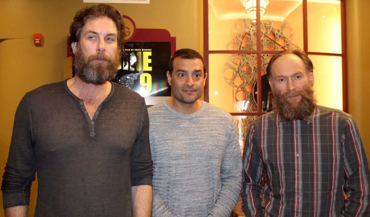 Eddie Mensore w/ cast members