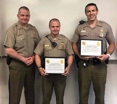 Commander's award winners
