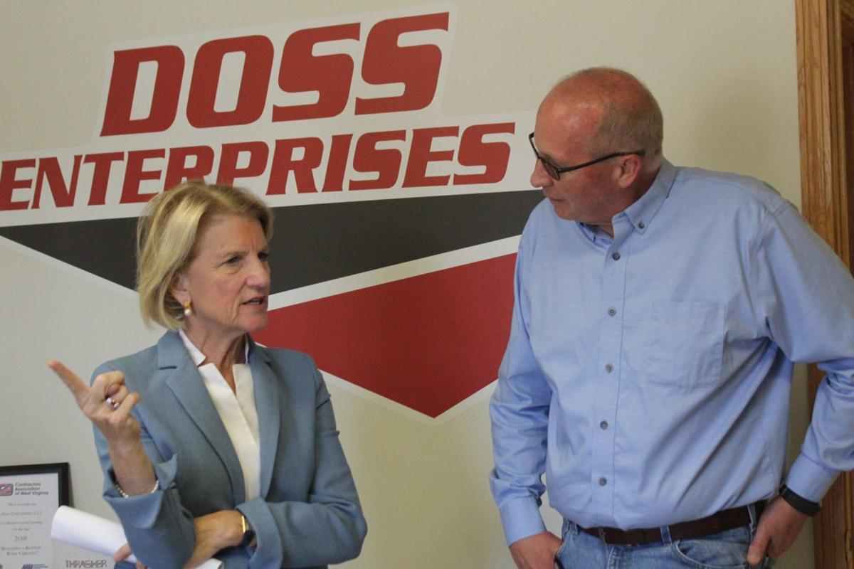 Capito speaks with Doss
