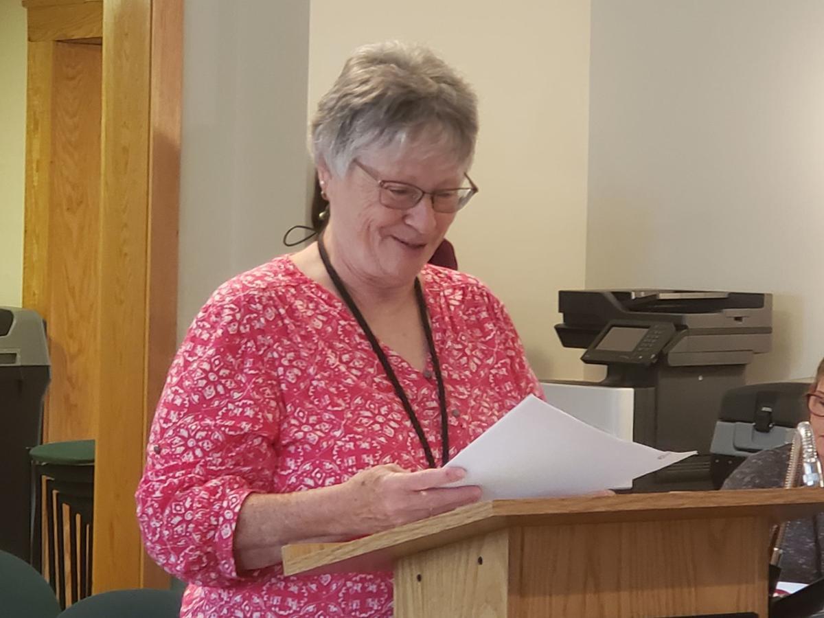 Kathy Mace's last meeting