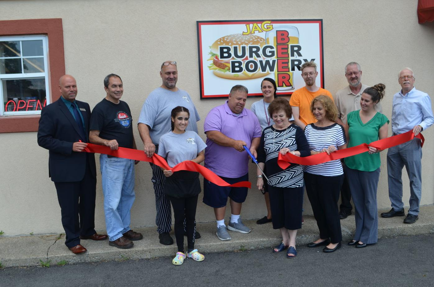 Marion County Wv Chamber Of Commerce Holds Ribbon Cutting For Jag Beer Burger Bowery News Wvnews Com