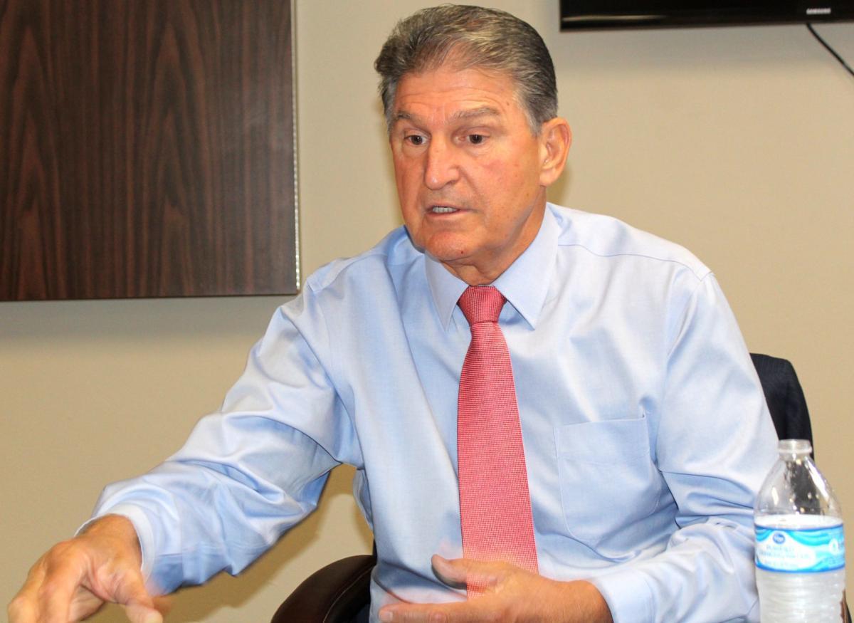 Going with his gut: West Virginia Senator Joe Manchin talks