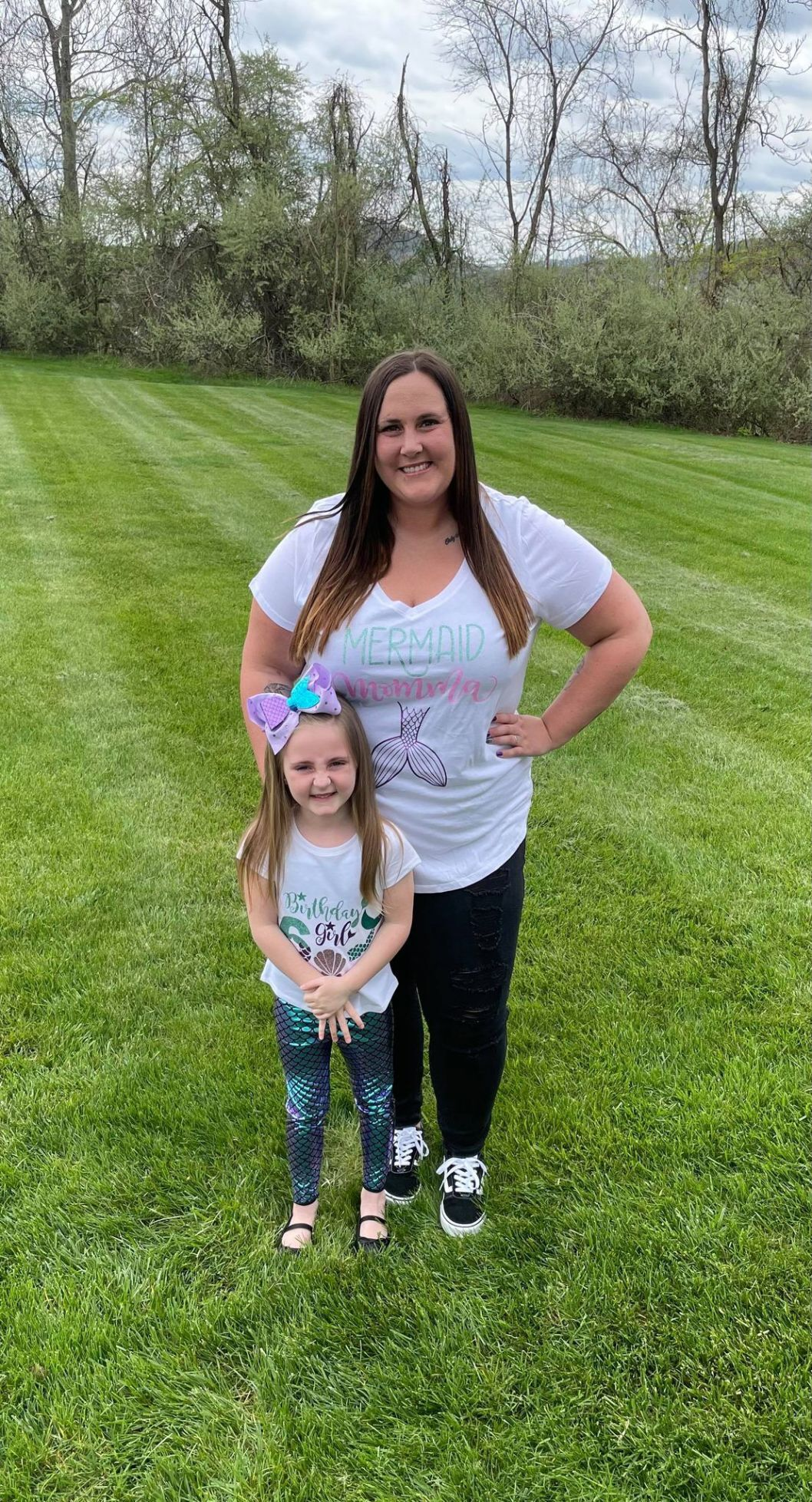 Kelsey and daughter Braxton