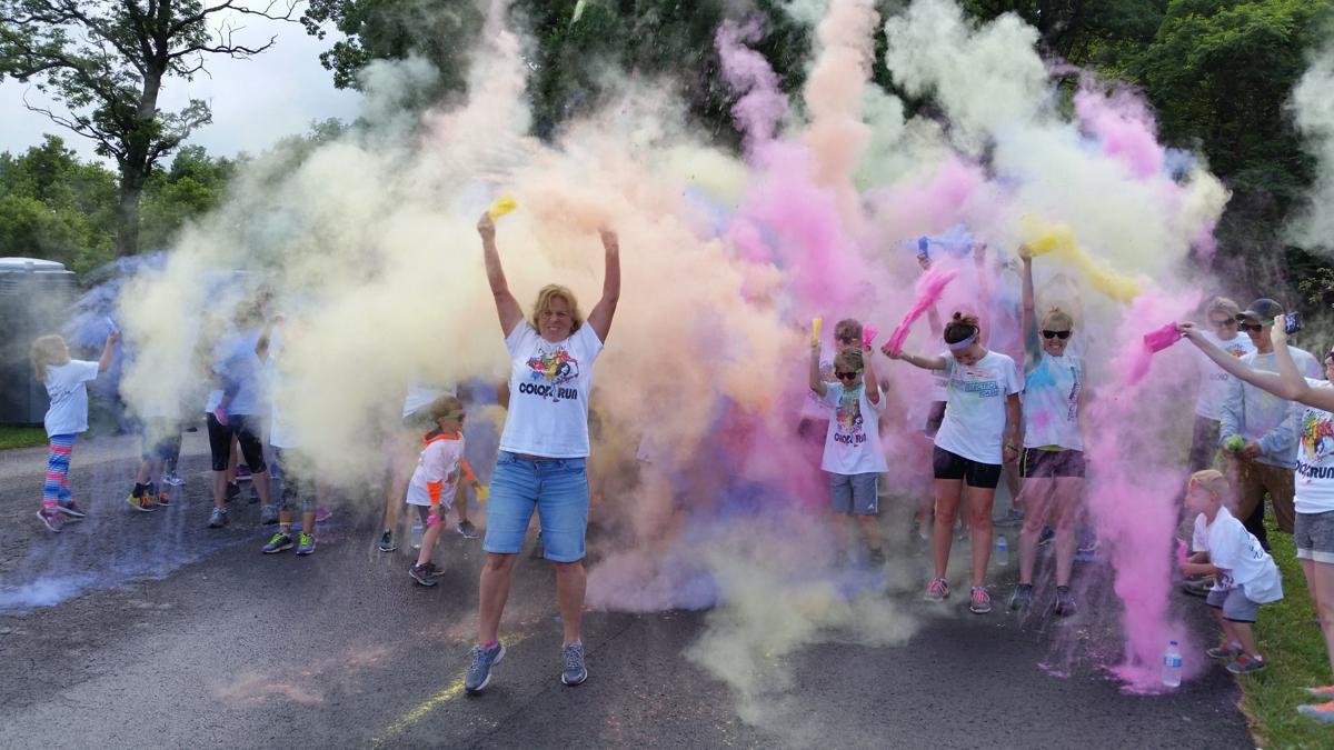 WGW color run