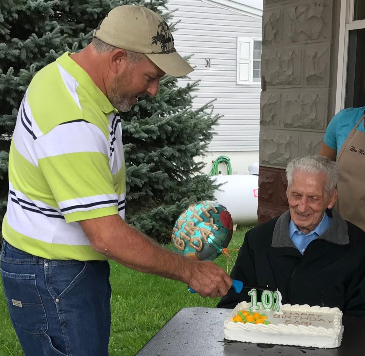 Wentz celebrates 103 years of life
