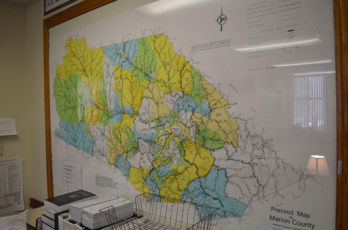Marion Co. Precinct Map - 2010