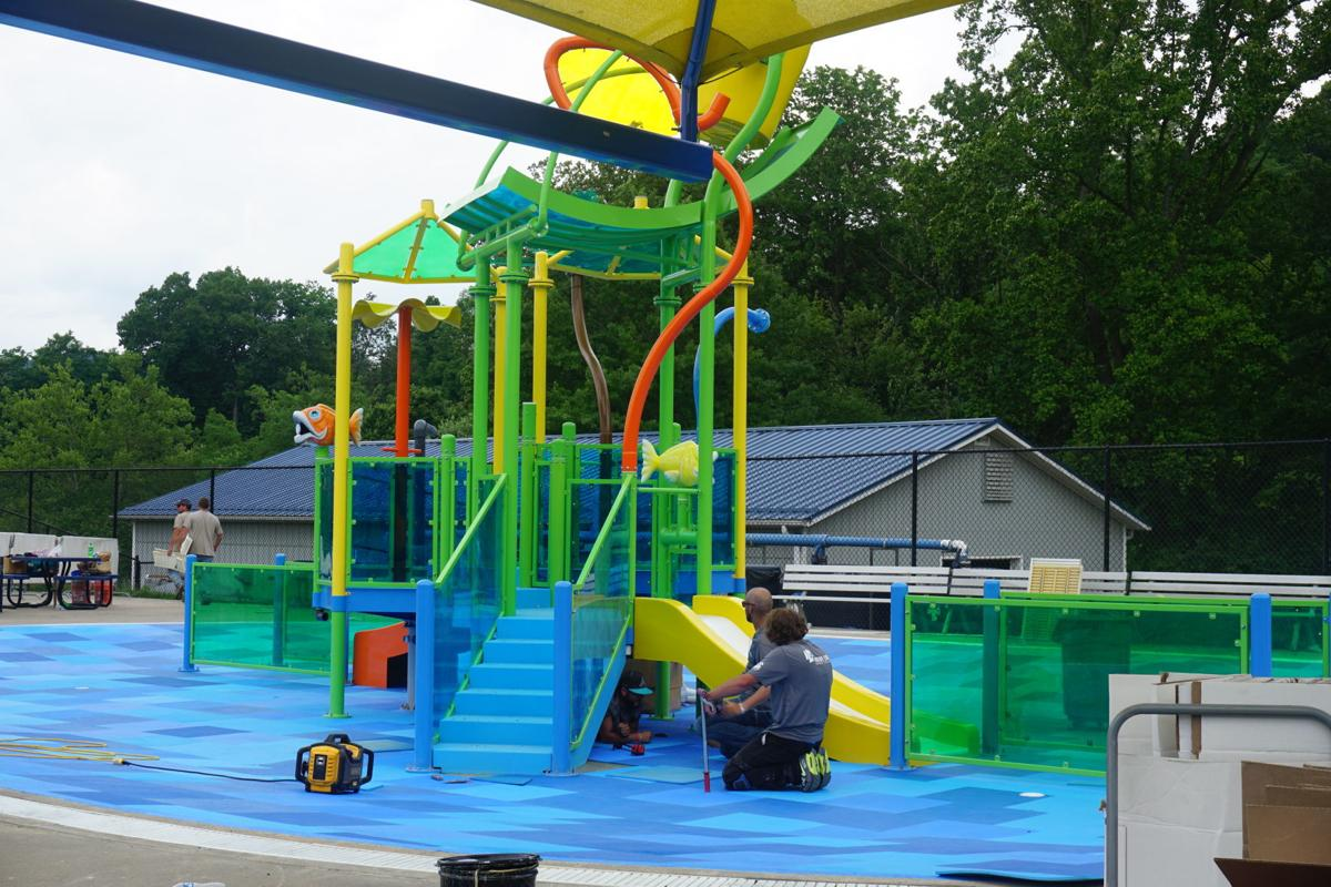 New Splash Zone children's area