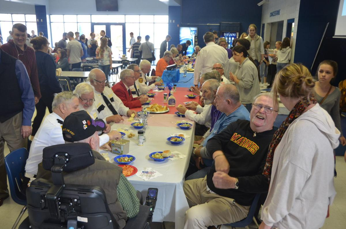 Veterans Day meal