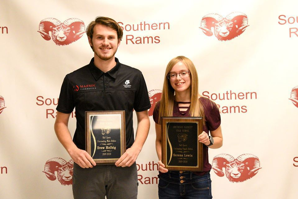 Most Outstanding Falll Athletes