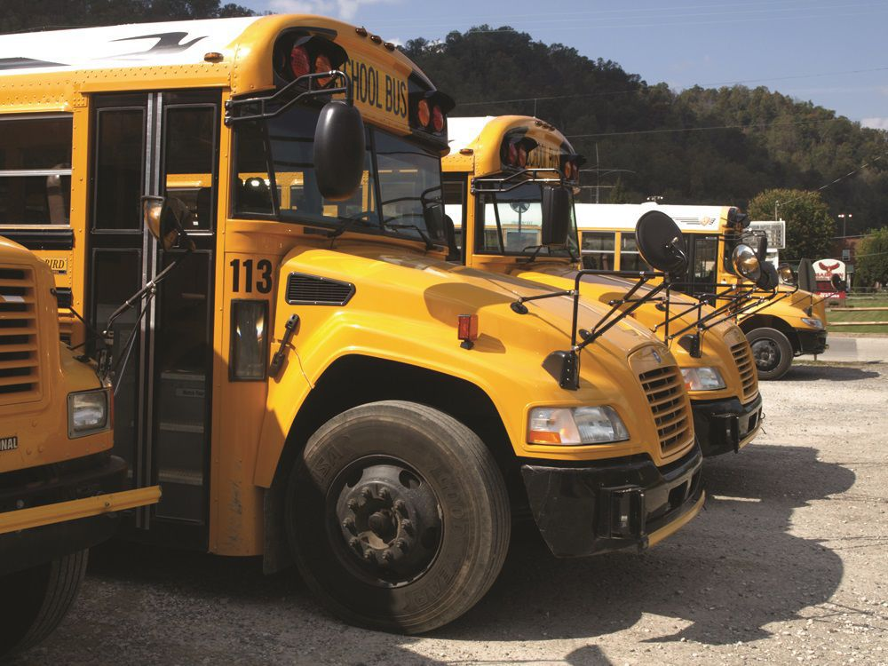Boone County school buses