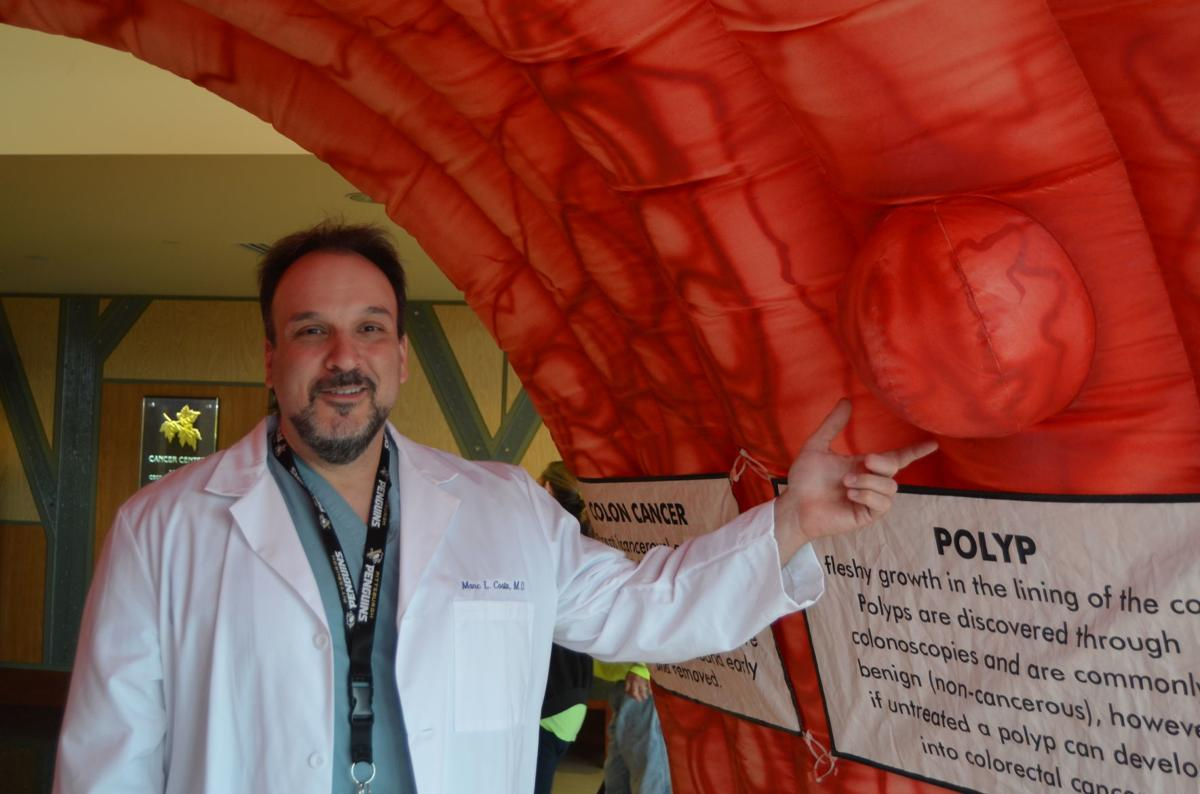 Strollin Colon To Raise Awareness Of Colorectal Cancer At Uhc