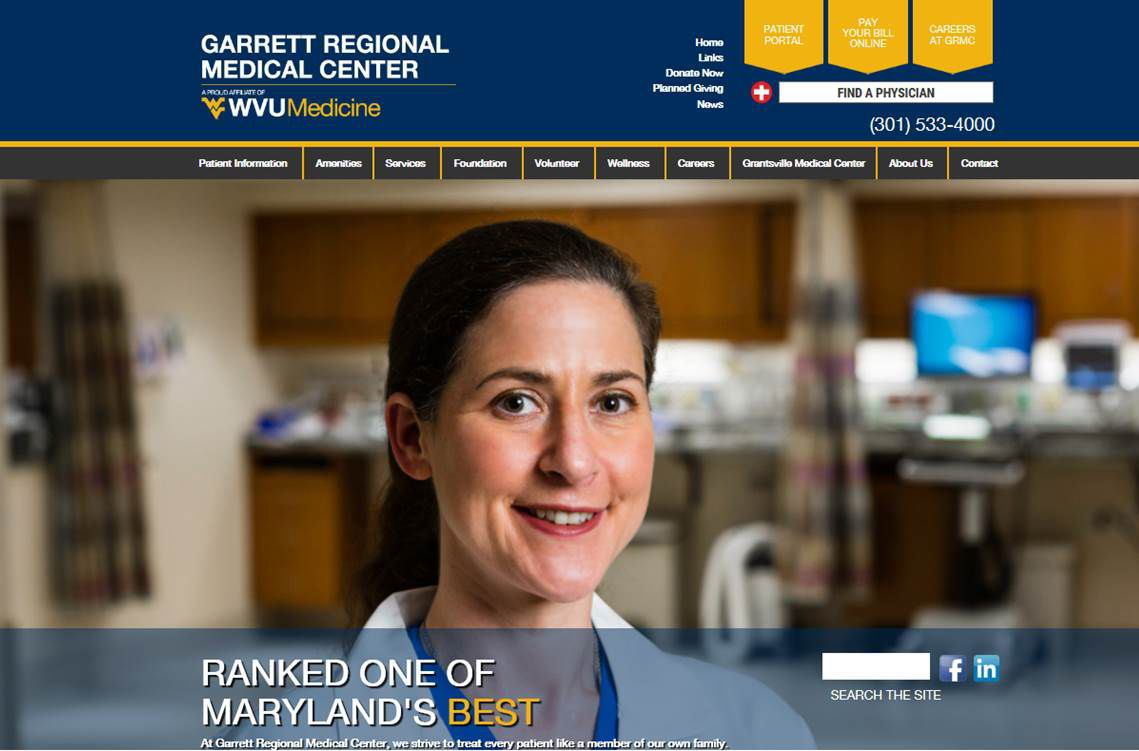 New GRMC website