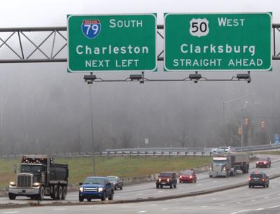 Report on U S  50, I-79 interchange project in Harrison County, WV