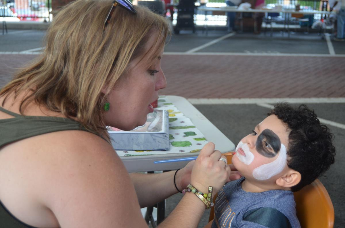 black heritage face painting