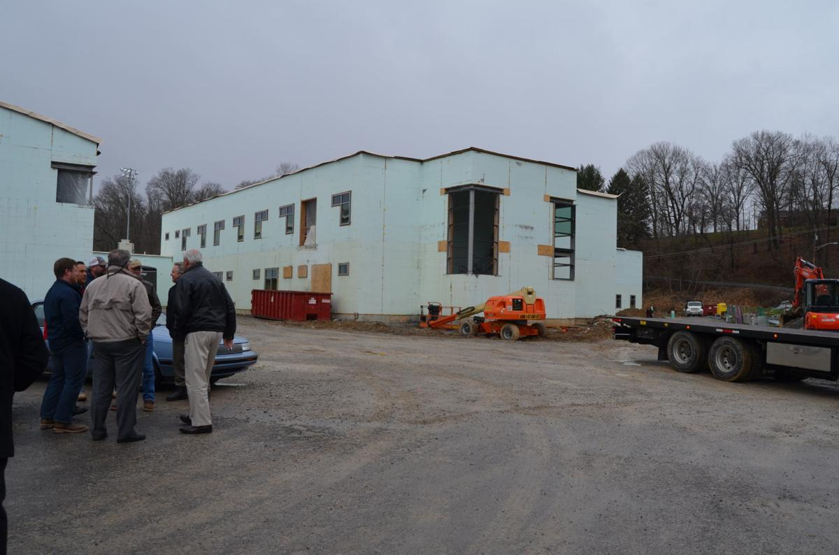 Johnson Elementary construction