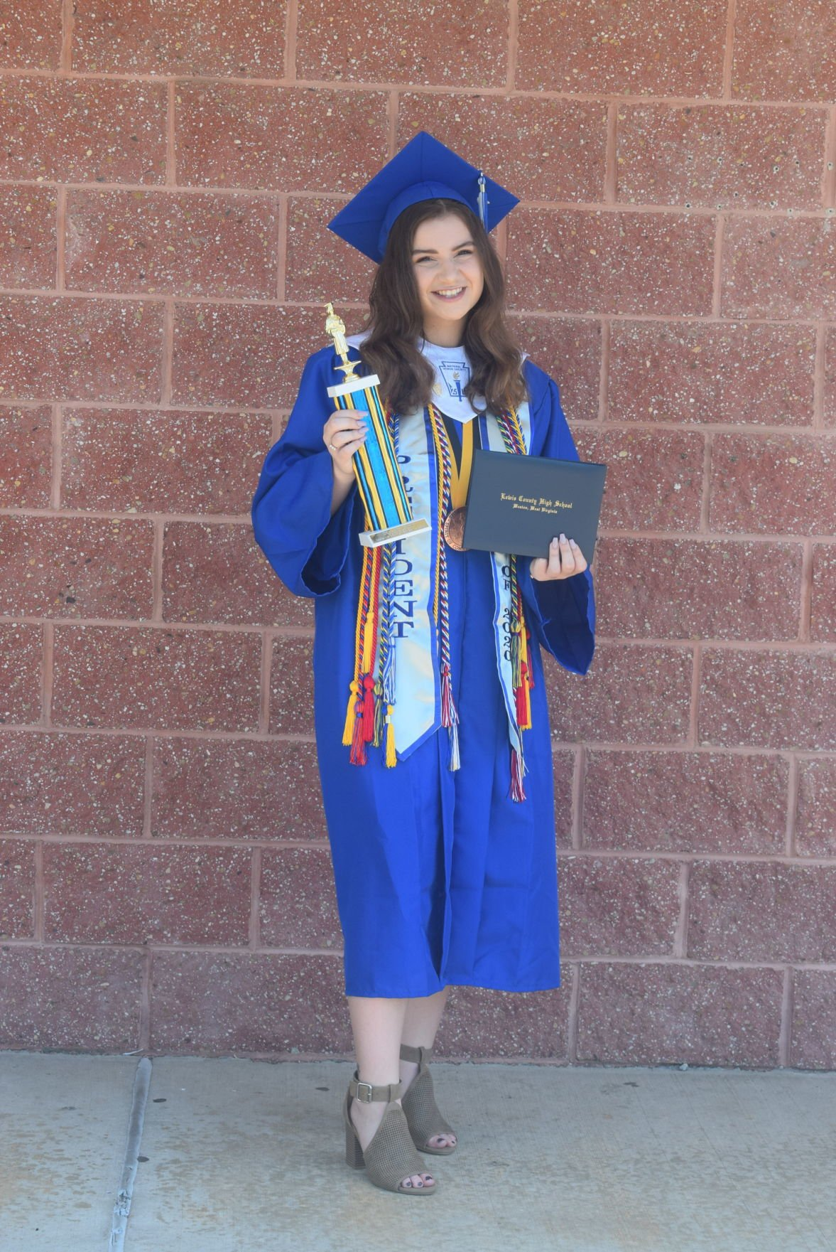 Lewis County High School holds graduation