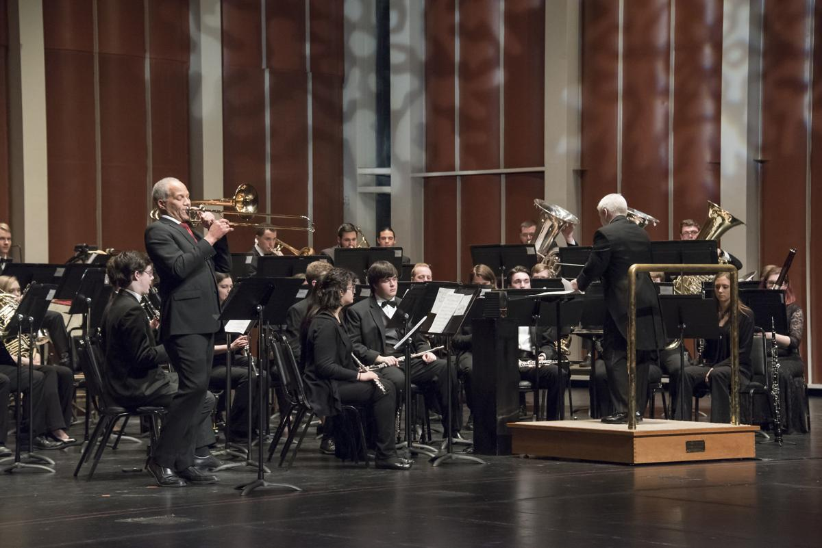 Jackson trombone solo