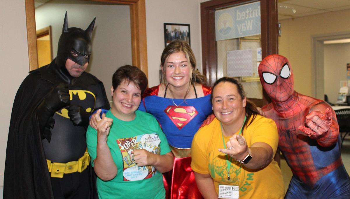 Camp Can-Do - superheroes