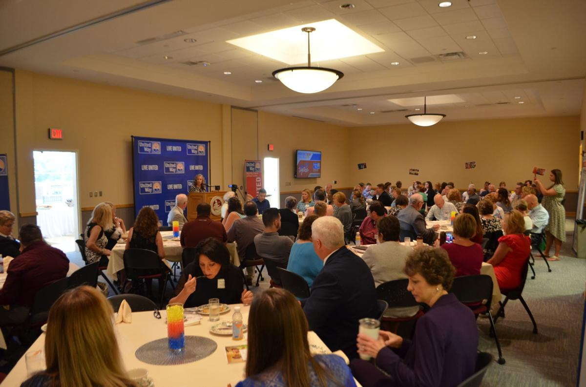 2019 United Way leadership breakfast - crowd