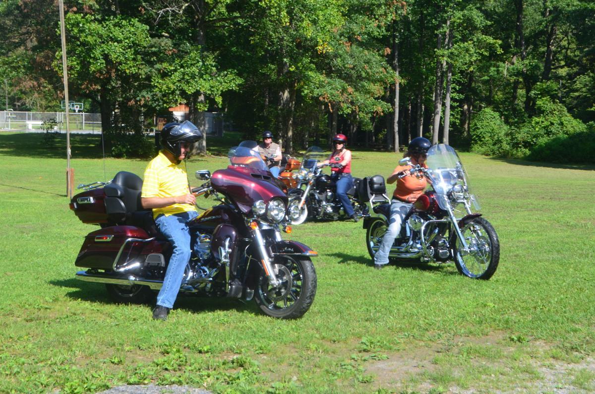 Clover Run: Motorcyclists in 4-H Motorcycle Clover Run
