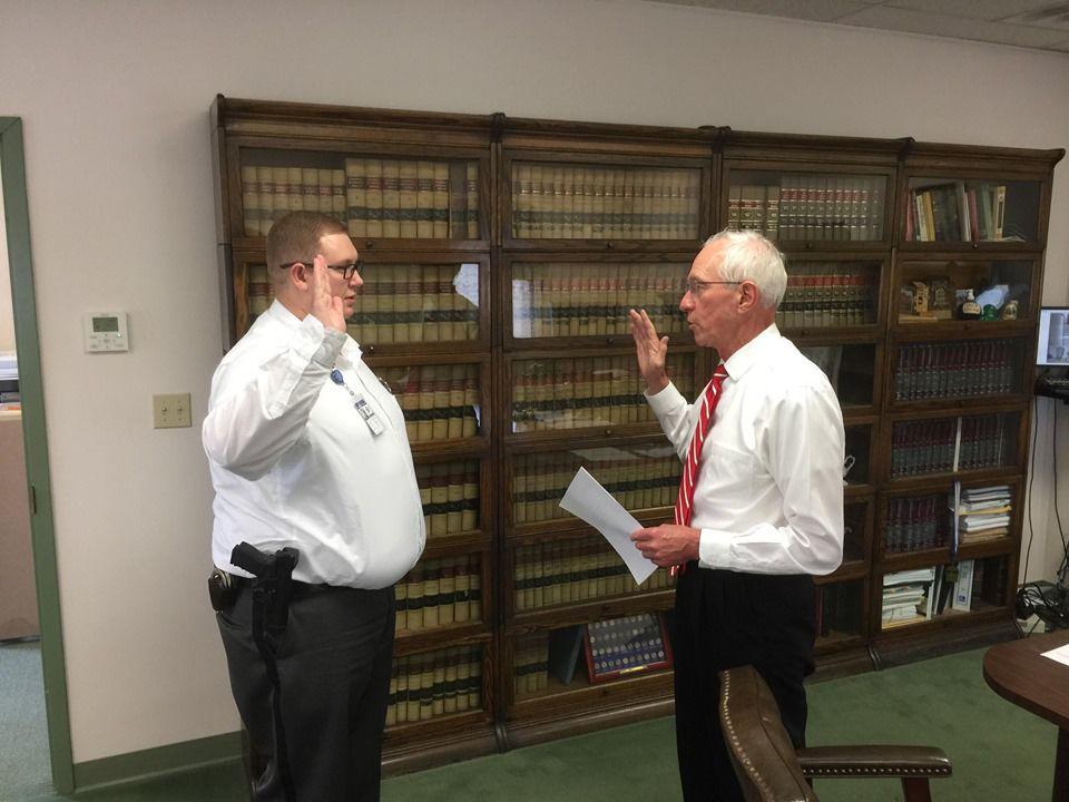 Bailiff sworn in