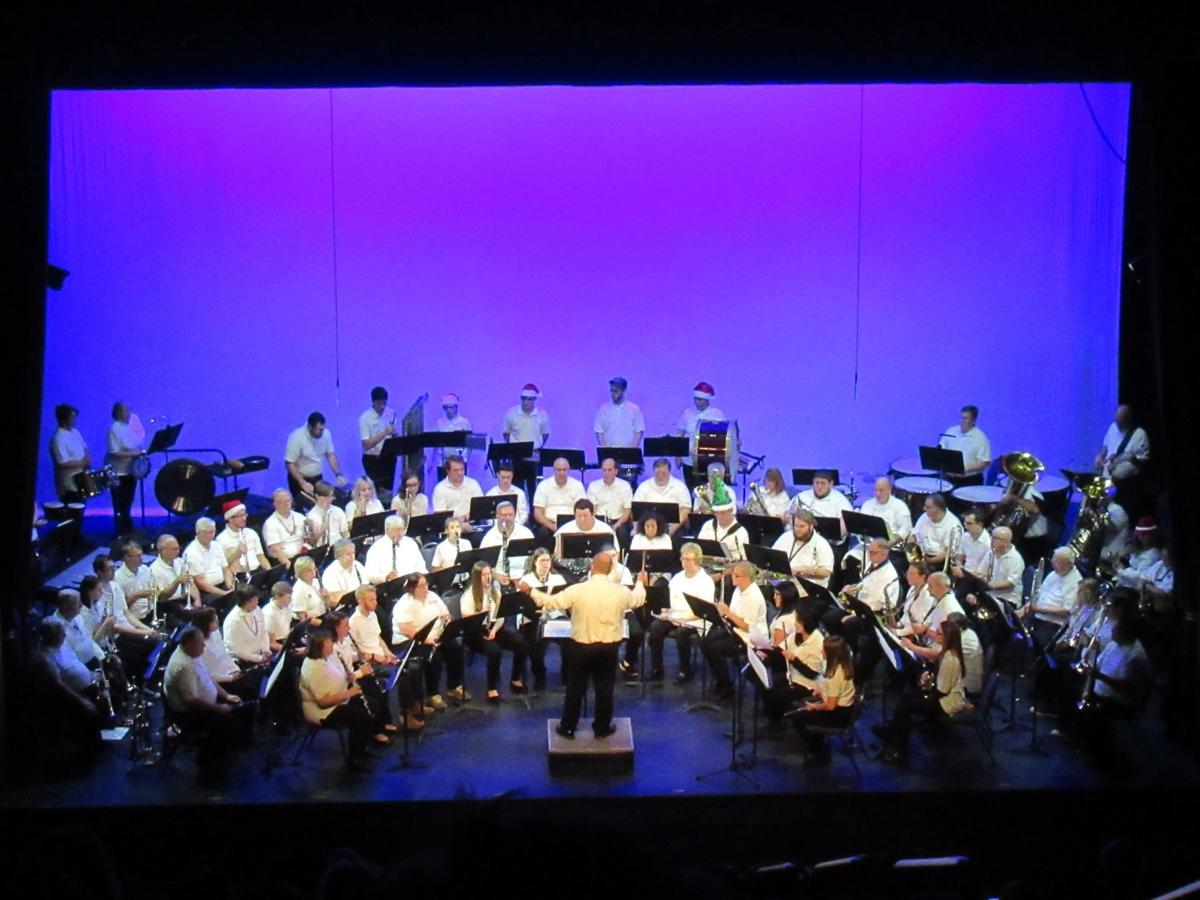 Shinnston Community Band1 christmas 2019
