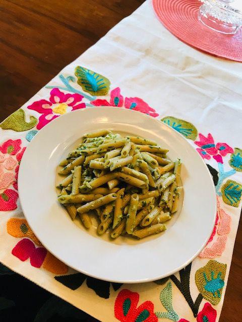 Ramp Pesto Pasta