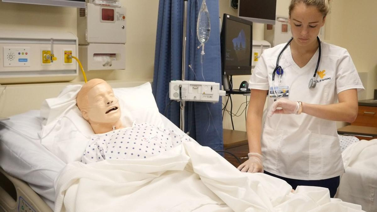 WVU School of Nursing at Potomac State student Madison Rotruck