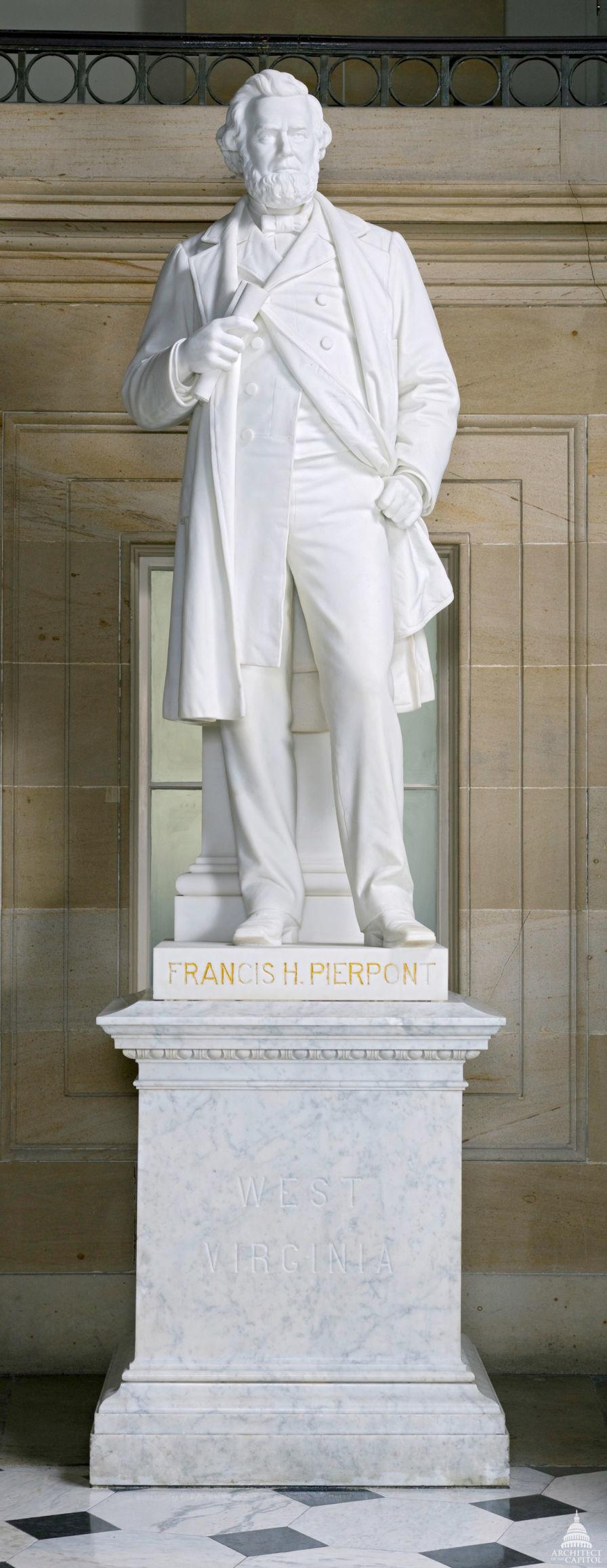 Pierpont statue