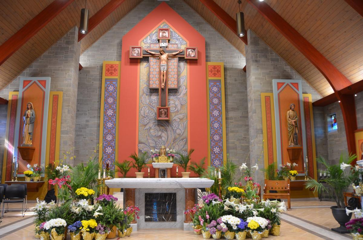 Parishioners of Our Lady of Perpetual Help back in church following