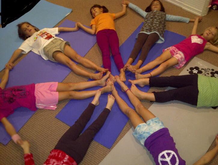 Feet in circle