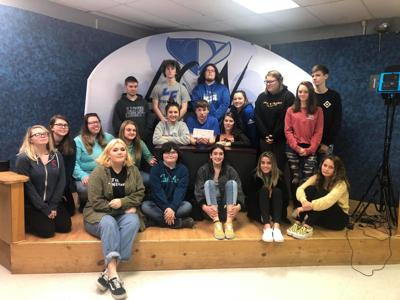 LCN Channel 3 students named one of the WV Broadcasters Association's grant recipients