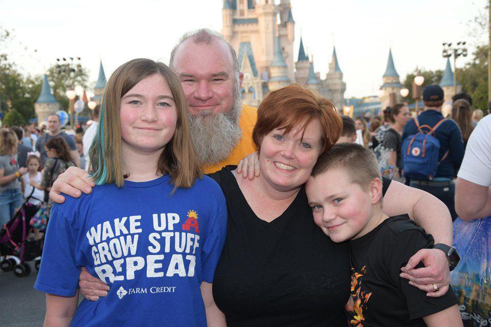 Paugh Family in Disney