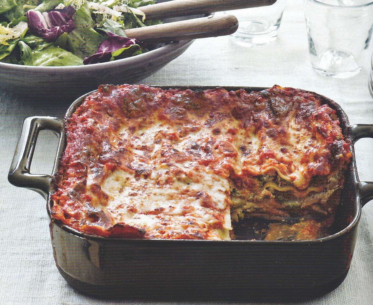 Hearty lasagna can feed holiday crowds
