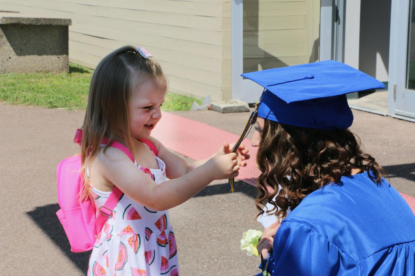 Grad and niece