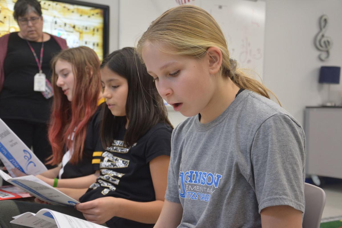 Johnson Elementary practice