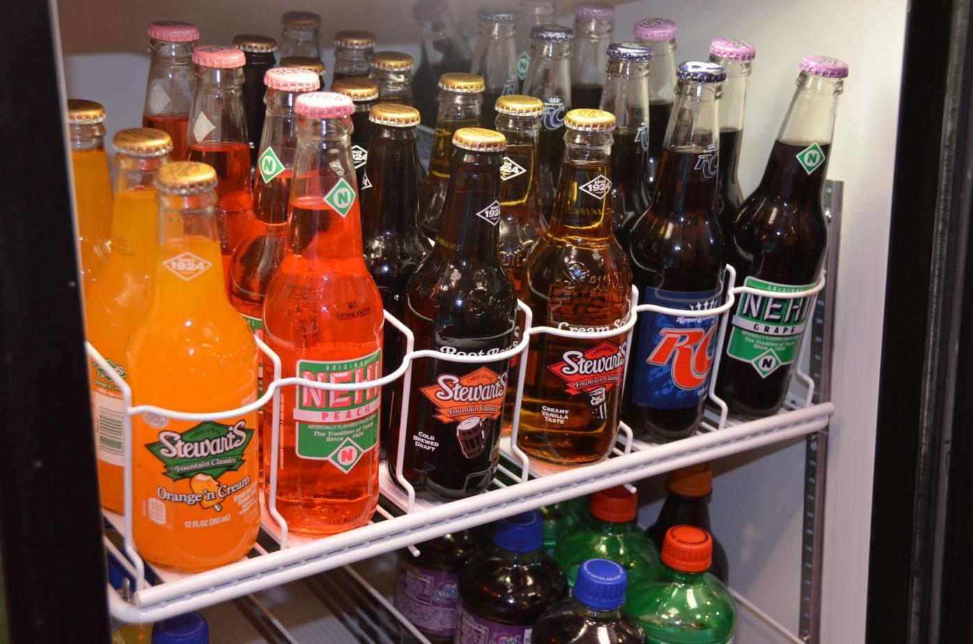 Retro soda collection