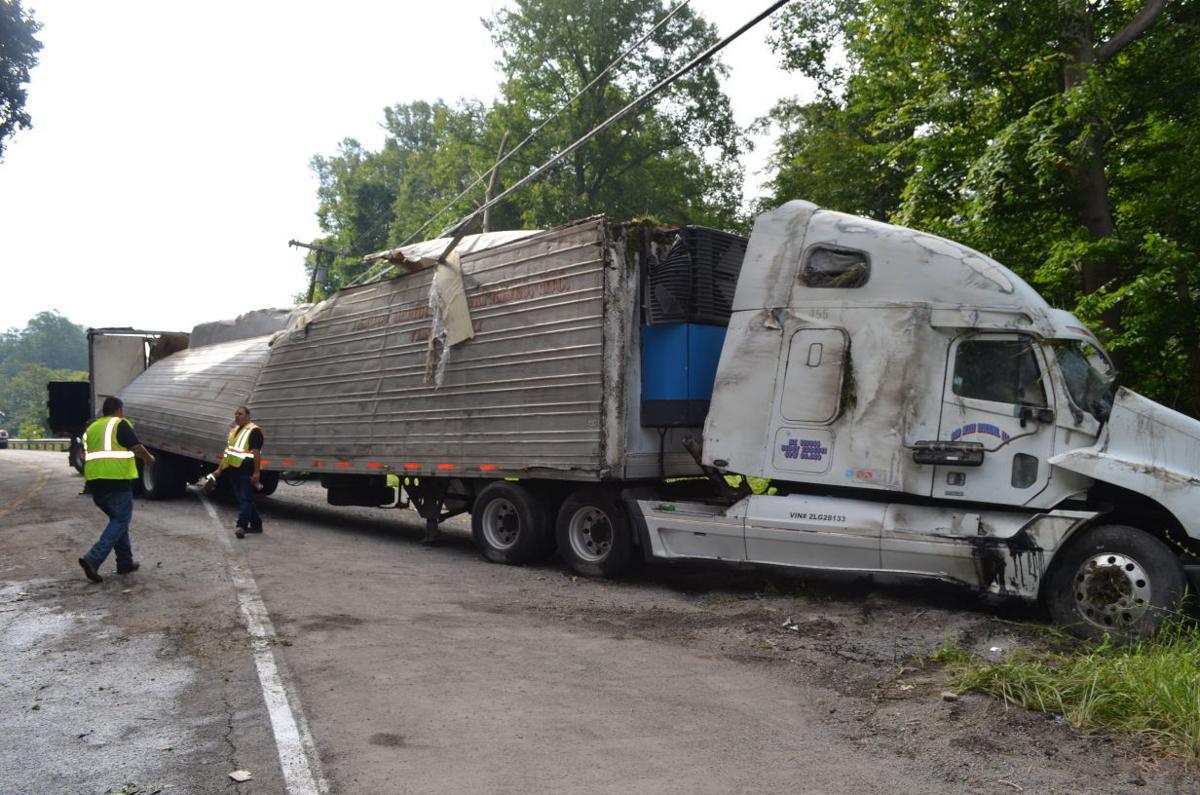 Tractor Trailer wreck