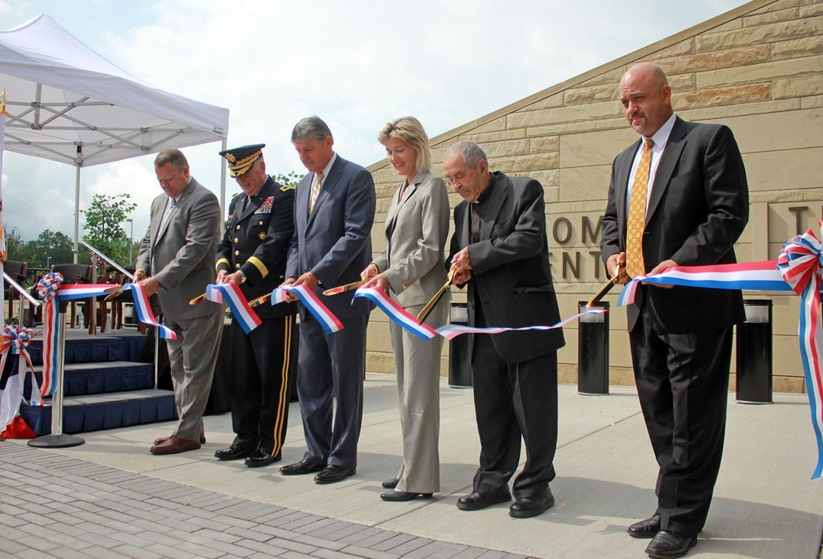 Officials dedicate the new biometrics facility at FBI